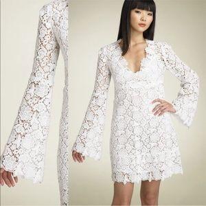 Diane Von Furstenberg Hippolite crochet lace dress